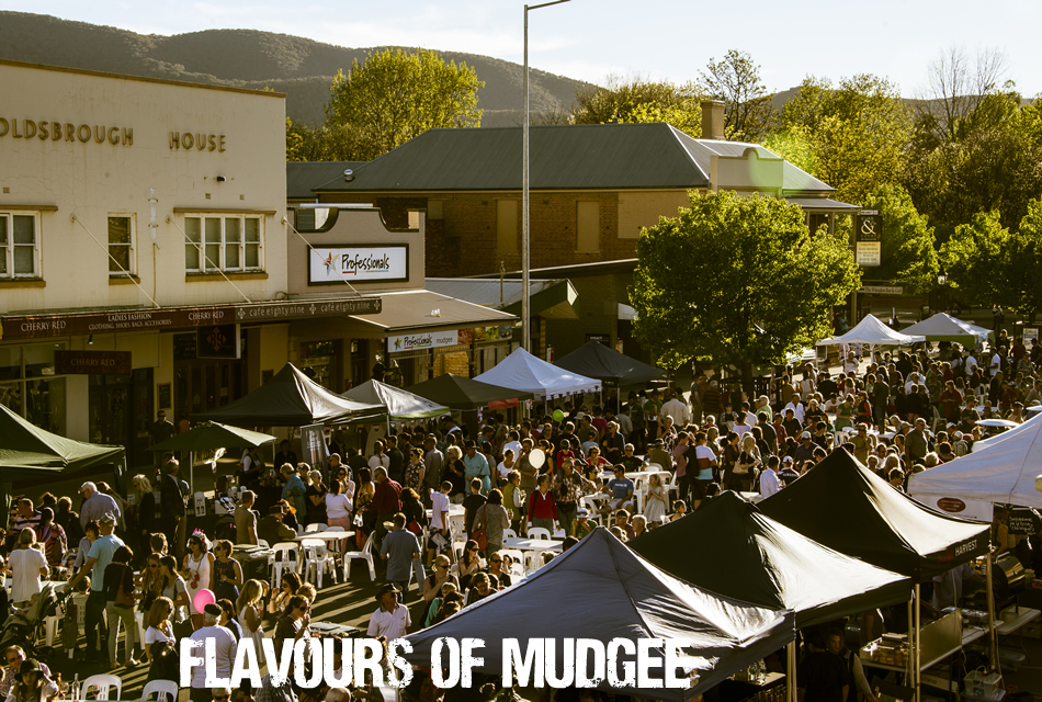 Flavours of Mudgee Street Festival