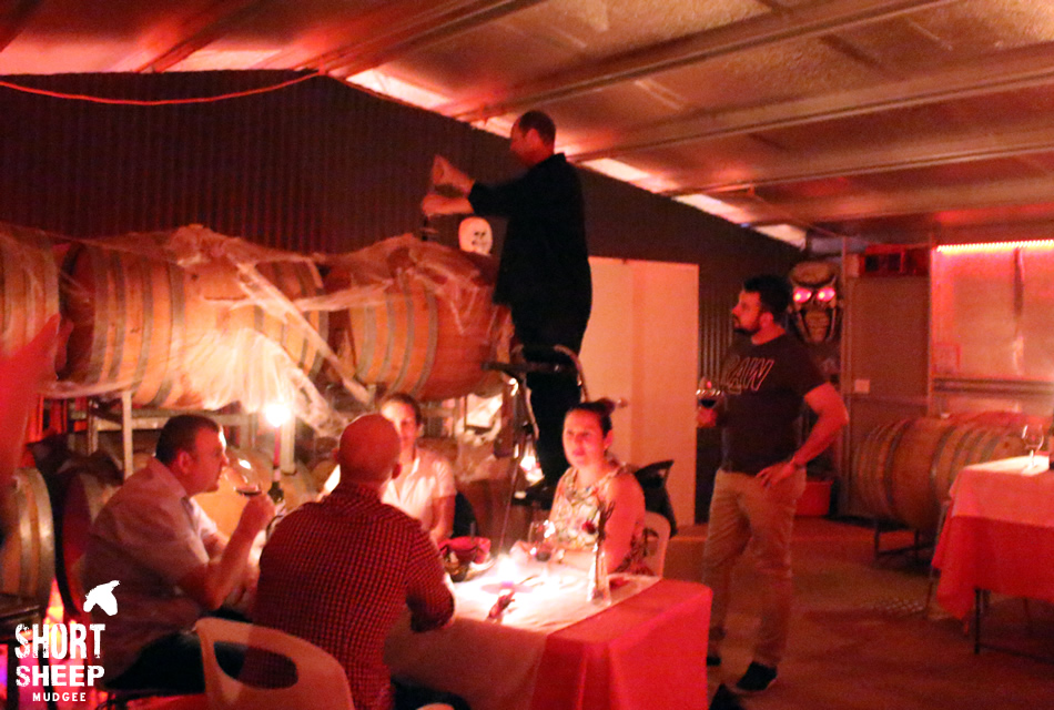 Halloween BLOOD RED Festival Barrel Tasting